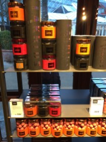 Delicious chocolate covered licorice for sale at Lakrids by Johan Bülow.