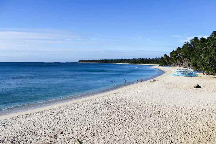 Wild camping in the Philippines