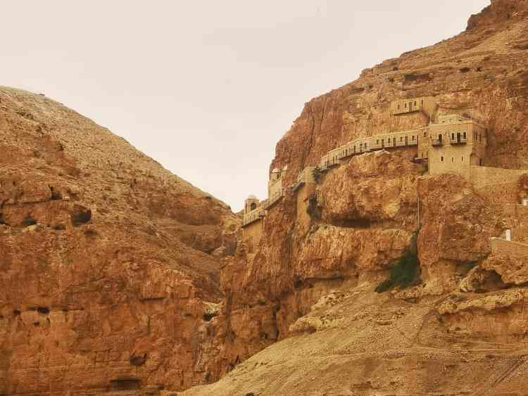 One of the many incredible sights in Jericho.