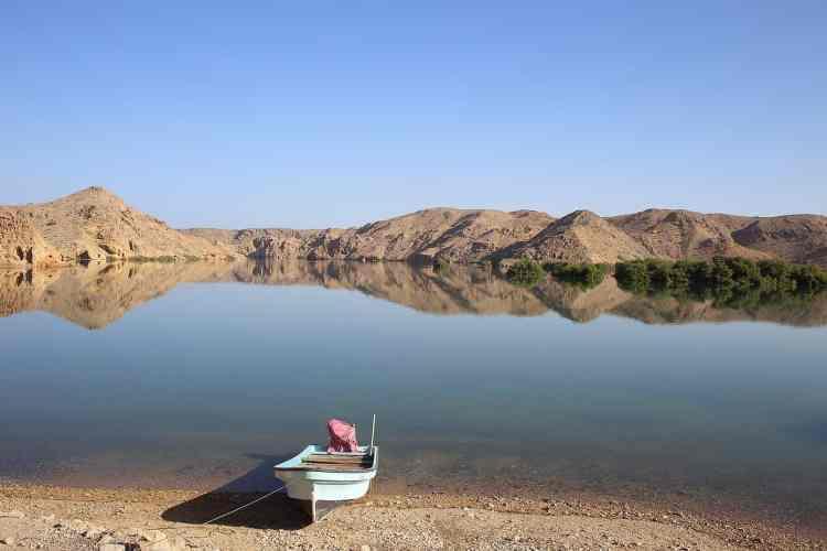 Wild camping Oman