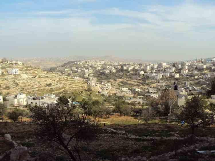 Wild camping Palestine