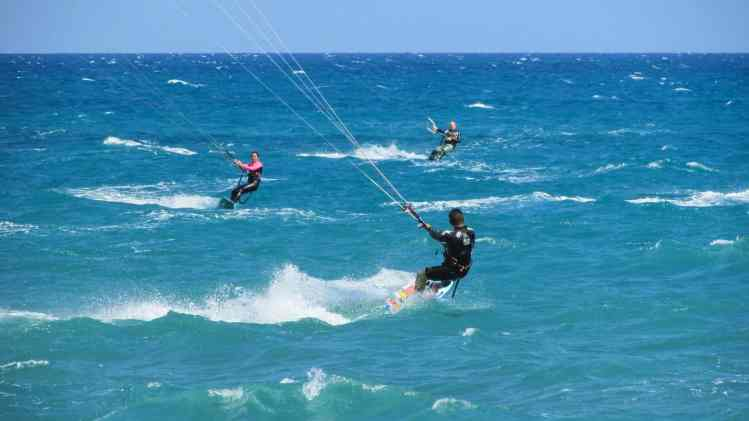 Kitesurfing in Port Mathurin and Rodrigues