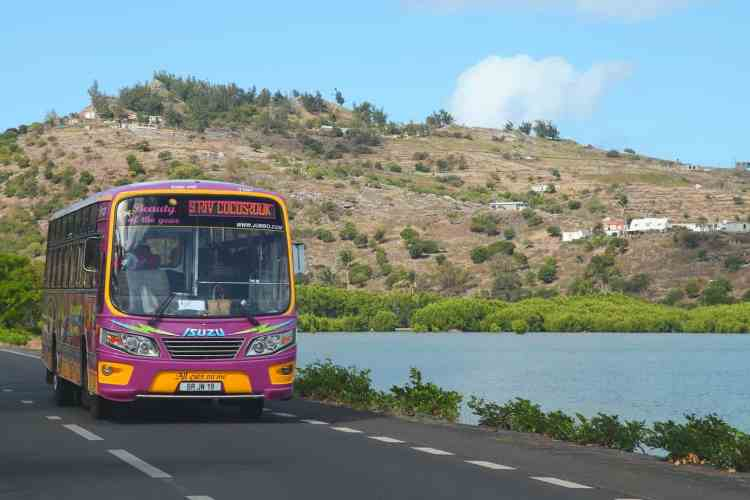 Bus travel in Port Mathurin and Rodrigues