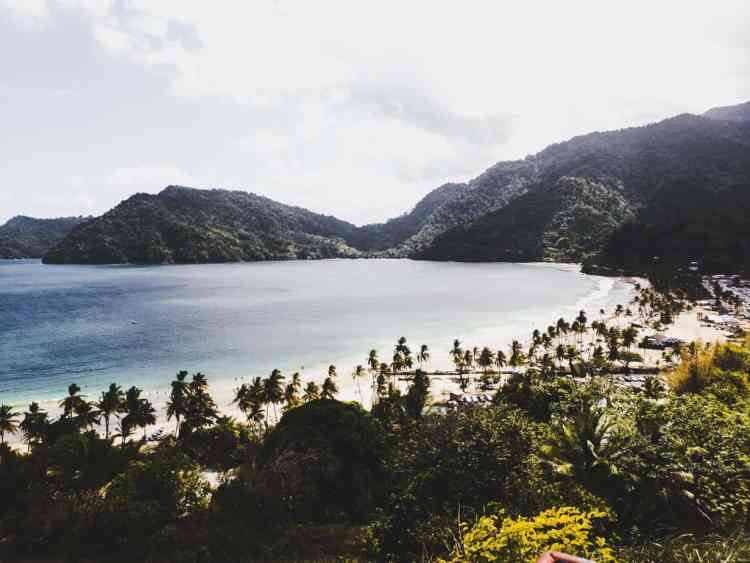 Beaches in Trinidad and Tobago