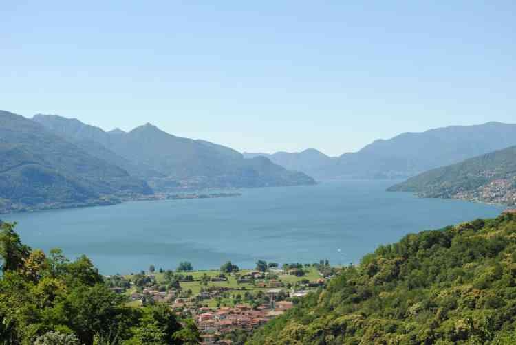 Lake Como hiking and walking