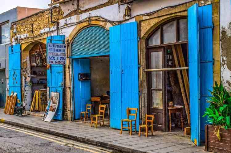 Cyprus or Greece