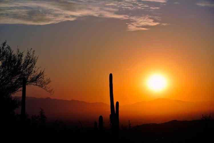 Dispersed camping in Arizona