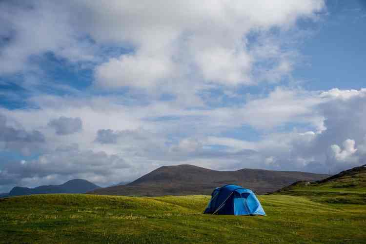 Camping in Northern Ireland