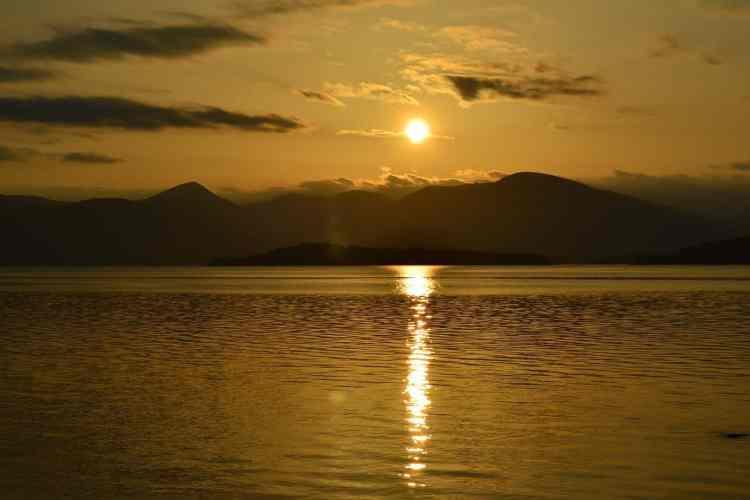 camping in Loch Lomond