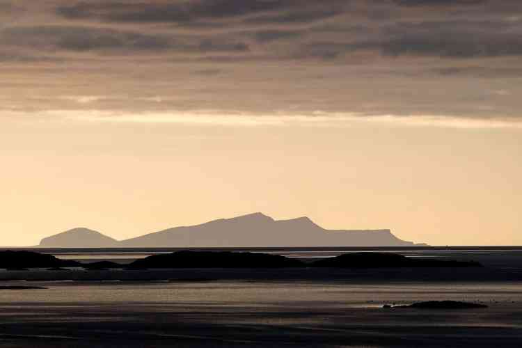Camping in Shetland