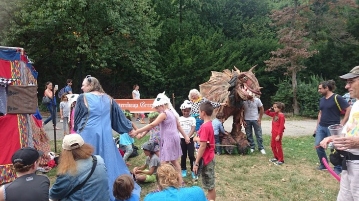 What is a Medieval Festival without a dragon?