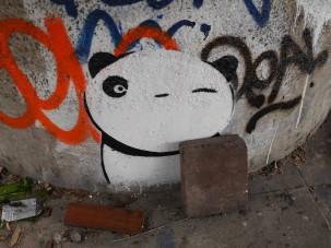 Regents canal panda art