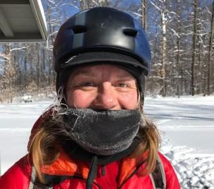 My https://enlightenedequipment.com/hooligan-stock/fit great underneath my Bern helmet and kept me toasty!
