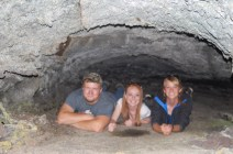 Caves, flashes, and self timers are difficult