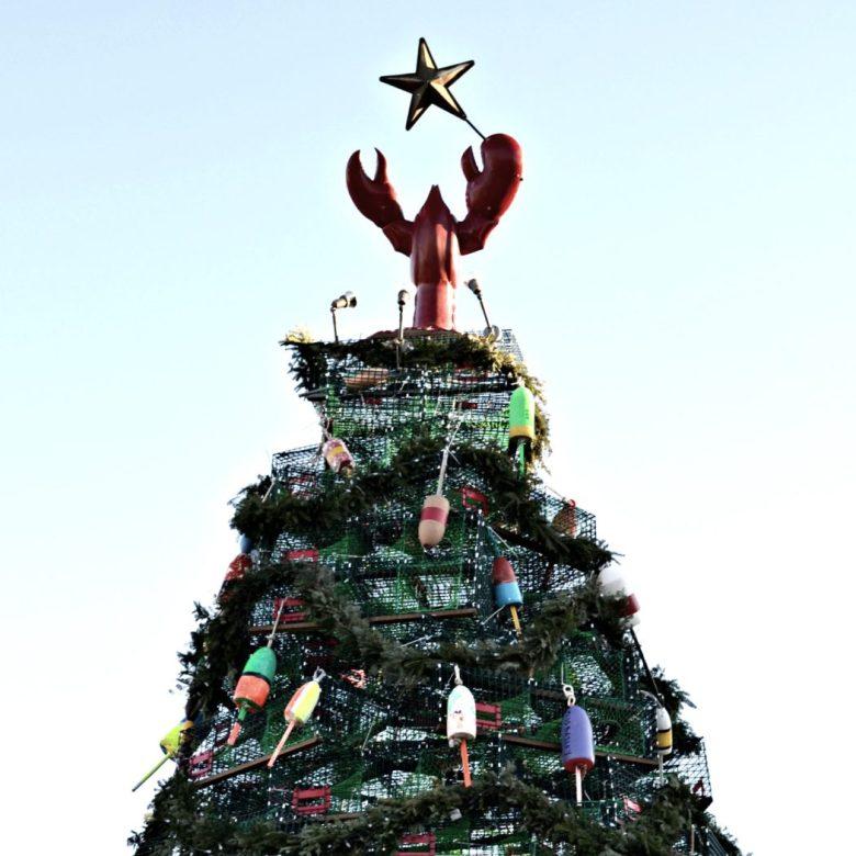 Rockland, Maine Lobster Christmas Tree