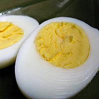 """Baking """"hard boiled"""" eggs"""