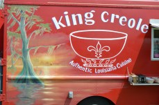 Love the new mural on King Creole's truck