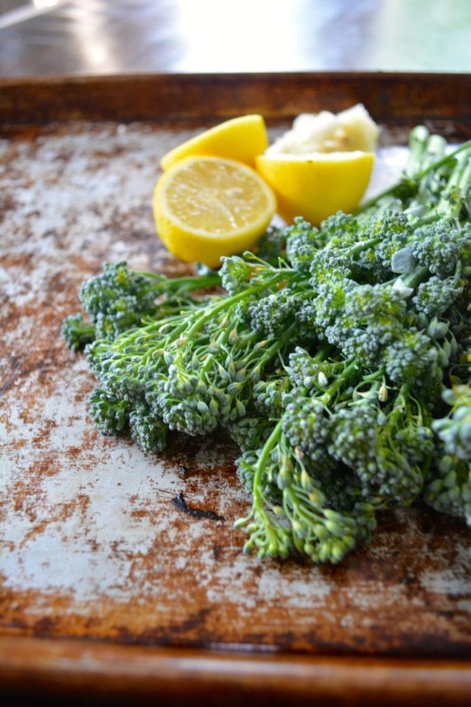 Lemon & Garlic Roasted Broccolini