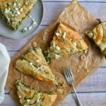Bosnian Burek or Sirnica - Spinach and Cheese Pies