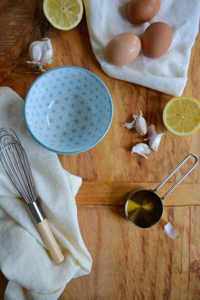 Classic Homemade Aioli