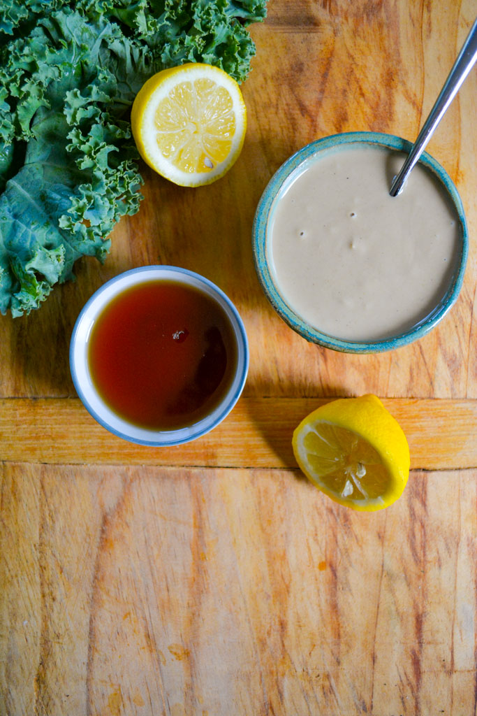 Roasted Delicata Squash Salad with Maple Tahini Dressing