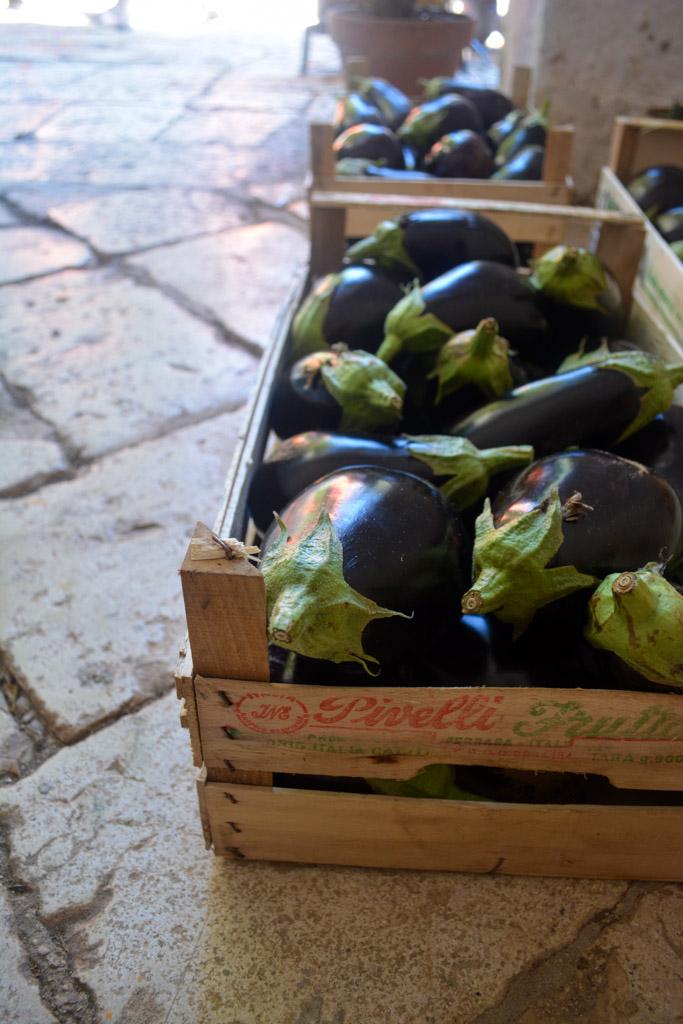 Eggplants - The Awaiting Table Italian Cooking Class