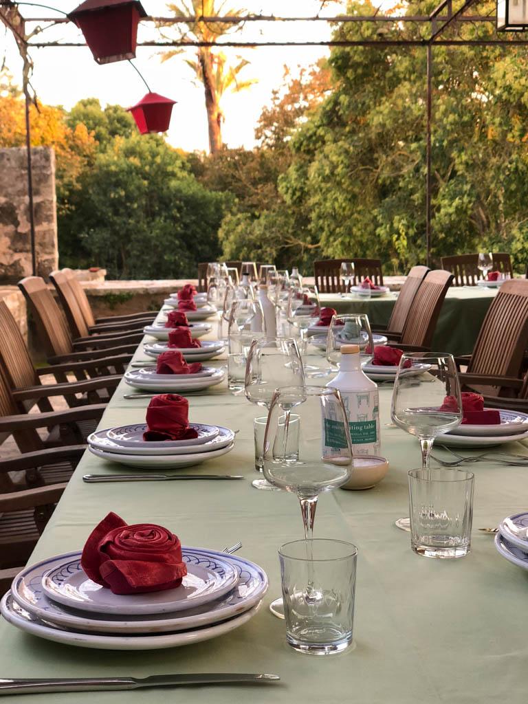 Palazzo Bacile di Castiglione - the Awaiting Table Cooking School in Puglia, Italy