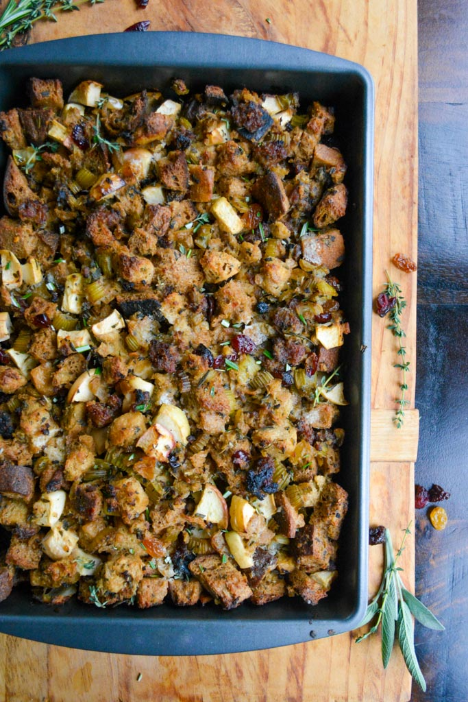 Best Ever Sausage and Apple Stuffing
