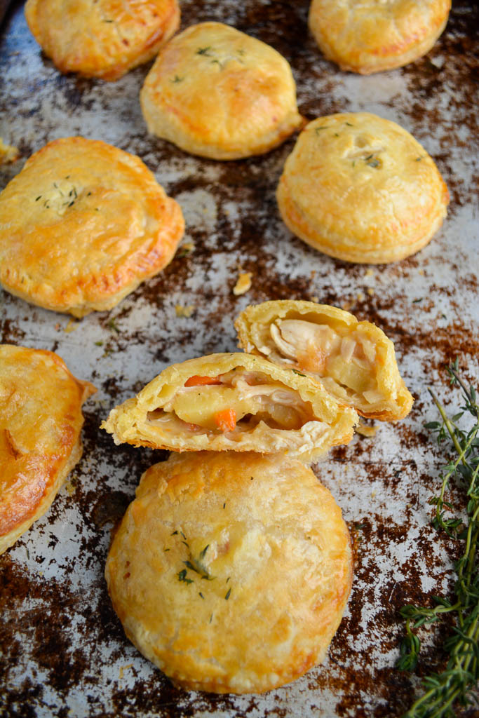 Chicken and Vegetable Hand Pies
