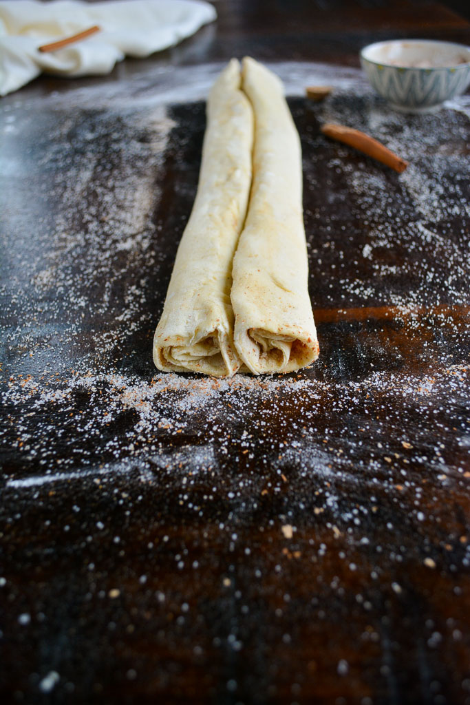 How to Roll Sweet Spiced Palmiers