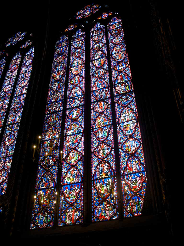 Comprehensive Guide to Paris:  Stained Glass of Sainte Chapelle