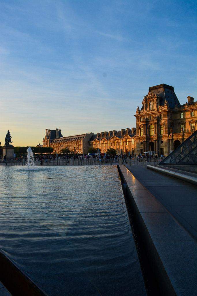 Comprehensive Guide to Paris:  Courtyard of the Louvre
