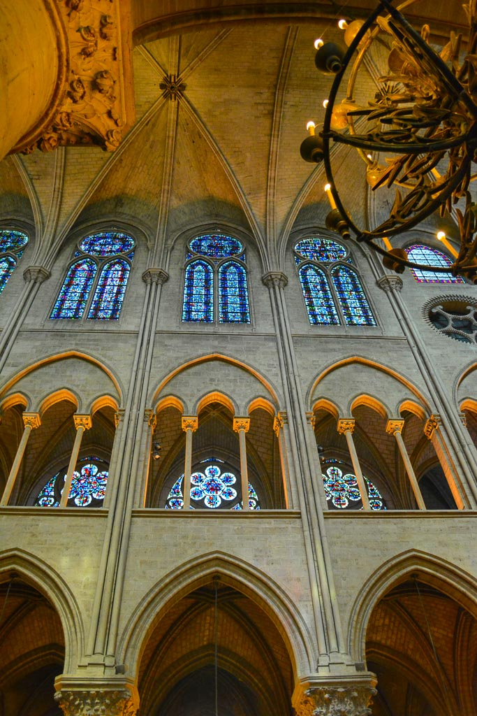 Comprehensive Guide to Paris:  Interior of Notre Dame