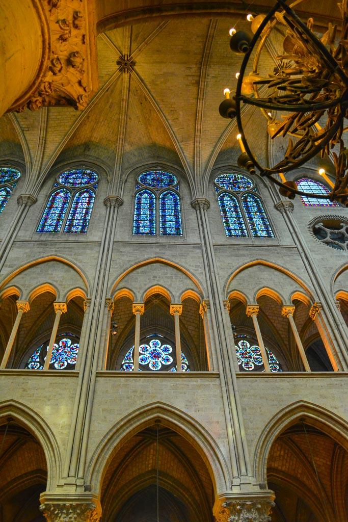 Comprehensive Guide to Paris:  Interior of Notre Dame