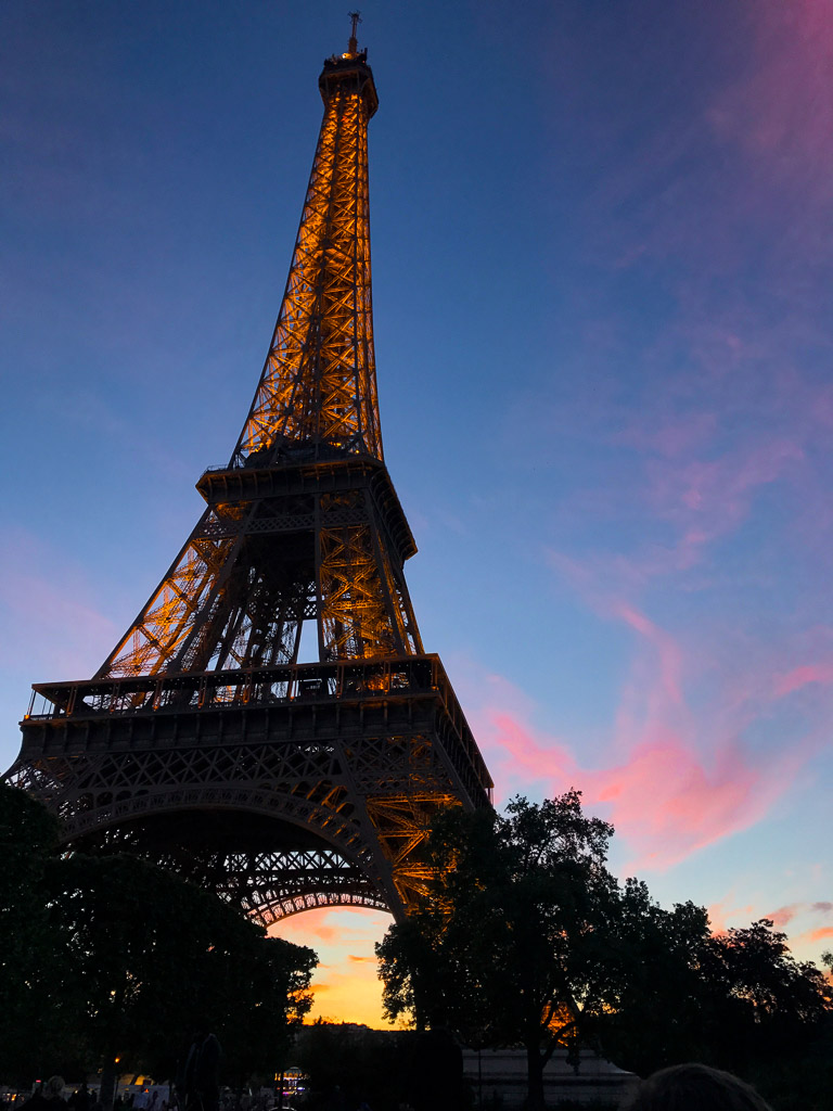 Comprehensive Guide to Paris:  Eiffel Tower at Sunset