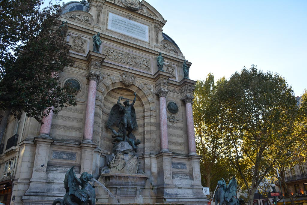 Comprehensive Guide to Paris:  The Fountain of St. Michel