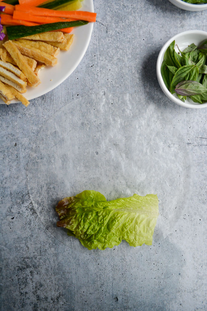 Rice Paper and Lettuce