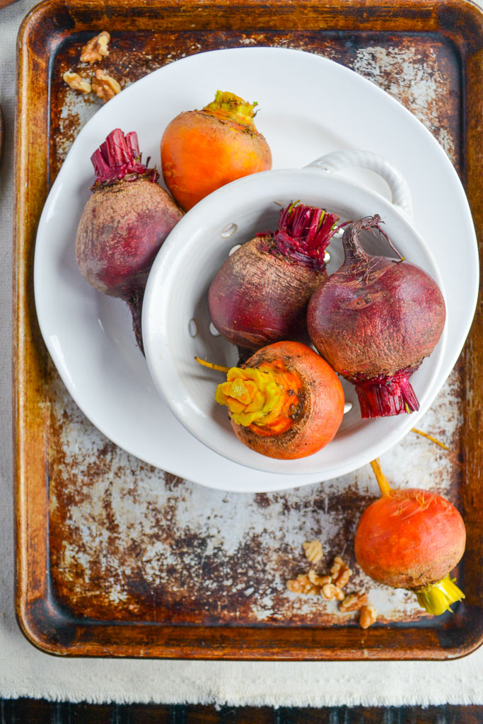 Red and Golden Beets