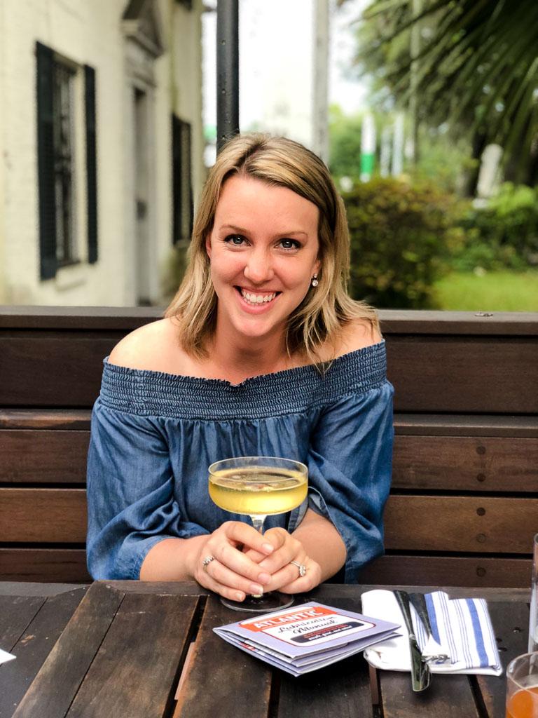 Drinks at Atlantic in Savannah, Georgia