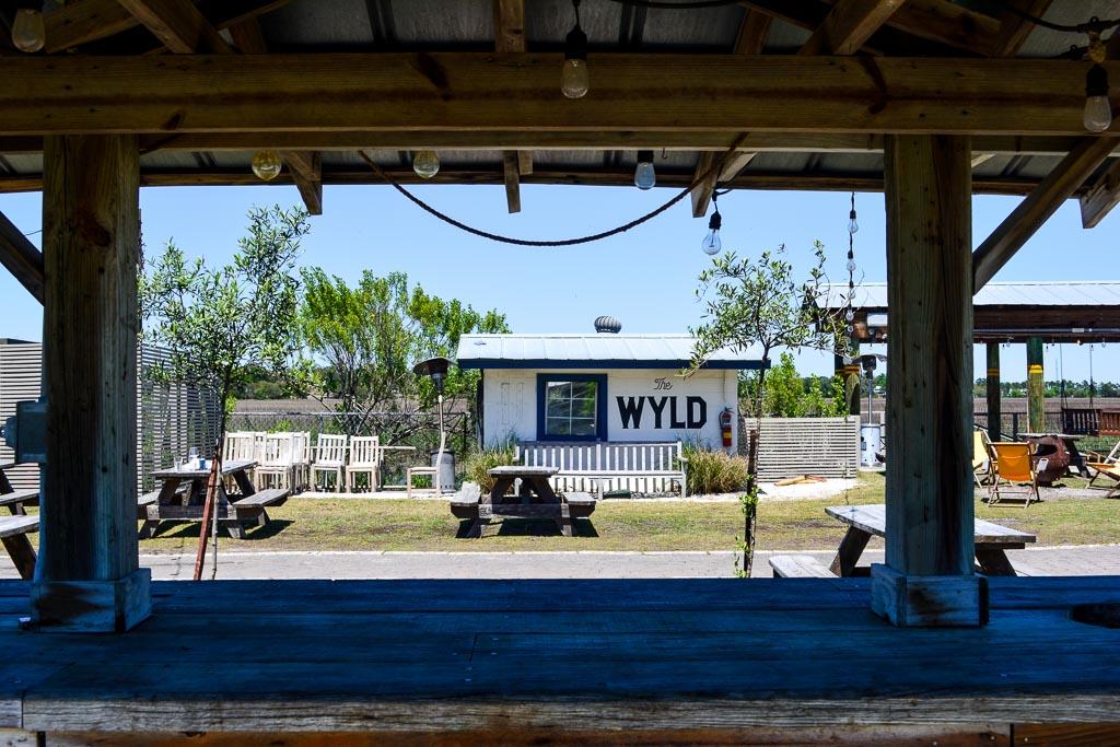 The Wyld Dock Bar in Savannah, Georgia