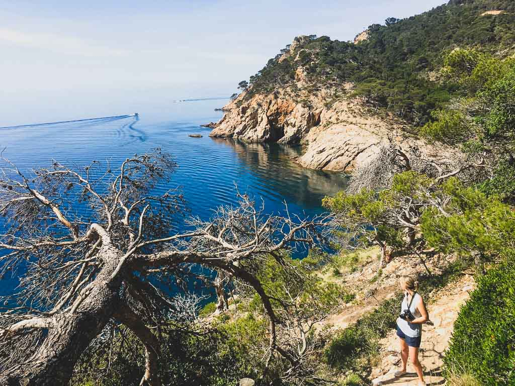 Hiking the Cami de Ronda near Tossa de Mar