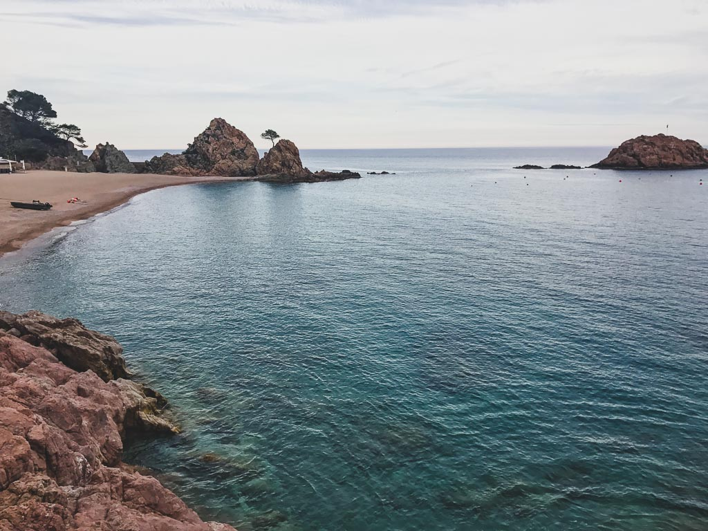 Platja Gran, Tossa de Mar