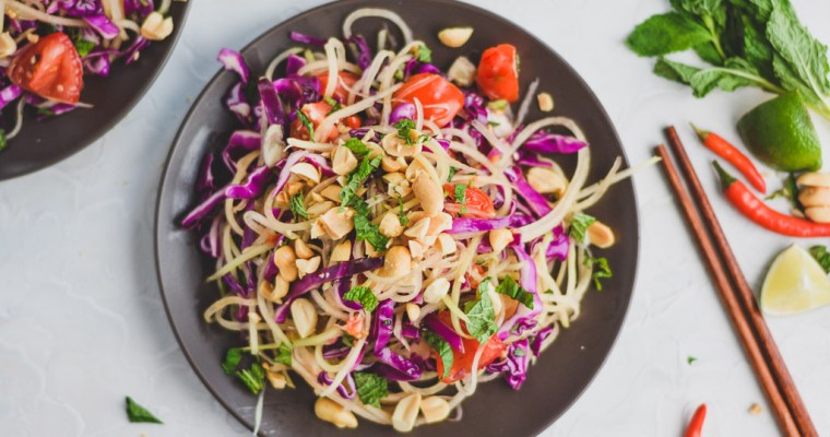 Crunchy Thai Papaya Salad