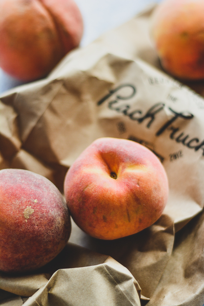 Freestone Peaches from The Peach Truck