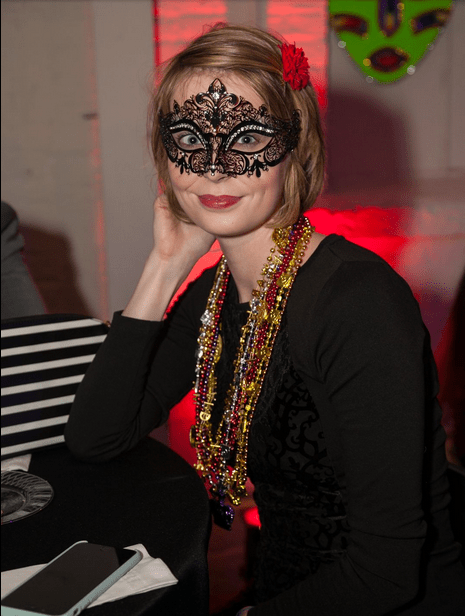 The Detroit Free Press posted photos from the Mardi Gras en Rouge fundraiser we went to - we were in two!