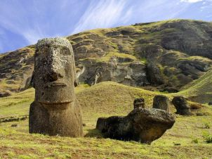 Easter Island (found on Google)