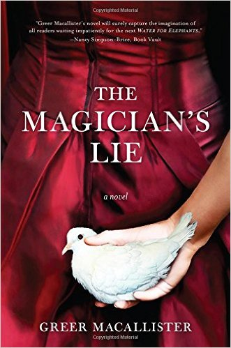 the magician's lie cover art greer macallister