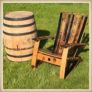 Whiskey Barrel Furniture & Home Decor