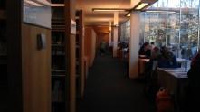 newspaper hallway