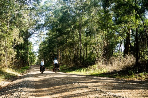 cycling dirt roads Australia